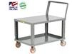 ADJUSTABLE HEIGHT SHELF TRUCK