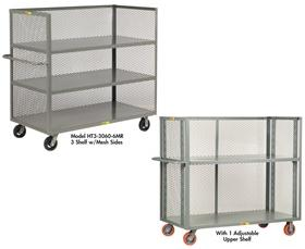 3-SIDED SHELF TRUCKS