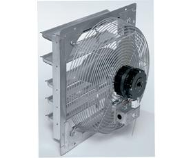 SHUTTER MOUNTED FAN