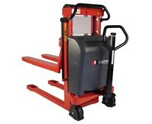 ELECTRIC LIFT/MANUAL PUSH ELF FORK OVER STACKER