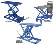 FOOT PUMP SCISSOR TABLE